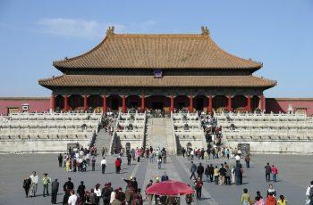 La ciudad prohibida en Beijing (Pekín), China