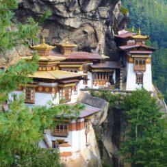 Paro Aktsang, el nido del tigre en Buthan