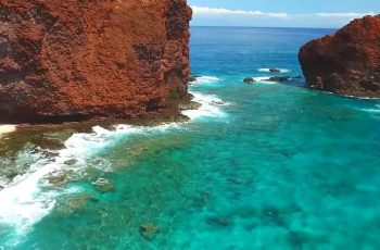 Manele Bay en Hawaii