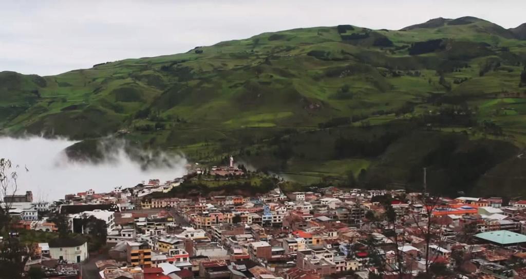 Alausí en Ecuador