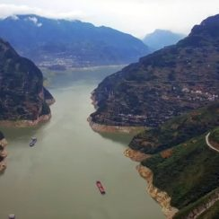 Río Yangtze (Chang Jiang) en China