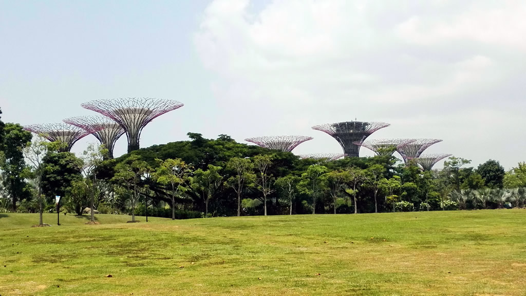 Gardens by the Bay en Singapur