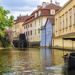 Isla Kampa (Na Kampě) en Praga