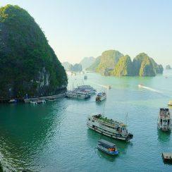 Viajar a Vietnam, bahía de Halong