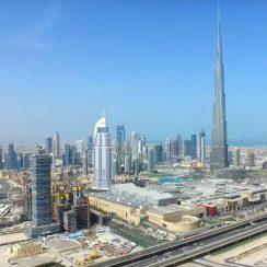 Burj Khalifa en Dubai