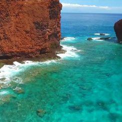 Manele Bay en Hawaii