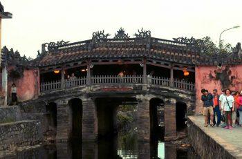 El puente japonés cubierto de Hoi An
