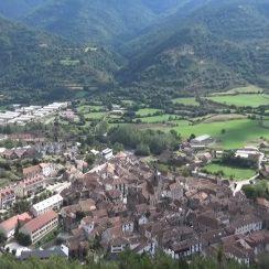 Valle de Hecho en los Pirineos
