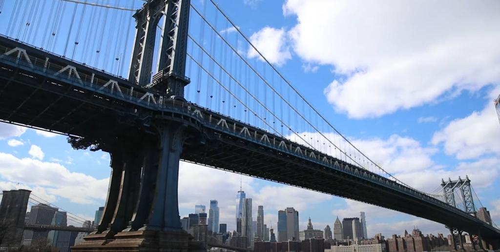 Puente de Brooklyn en New York