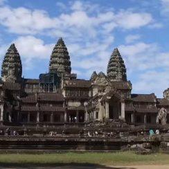 Templo Angkor Wat en Camboya