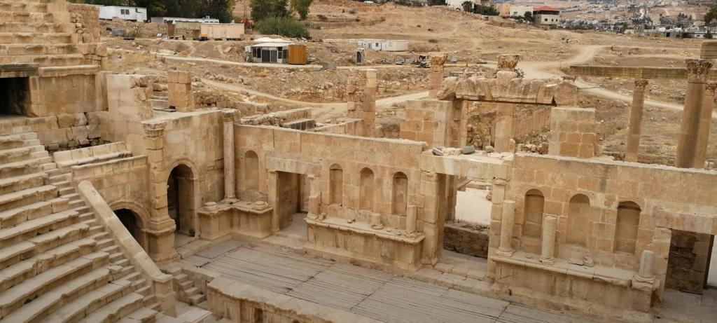Anfiteatro romano de Jerash (Gerasa)